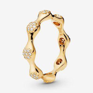 Pandora Pavé Modern LovePods Ring&nbsp